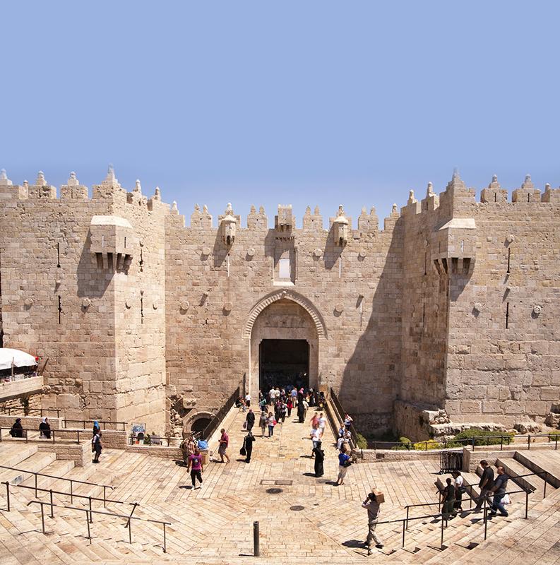 JERUSALÉM / VIA DOLOROSA / ANTIGA JERUSALÉM / BETÂNIA